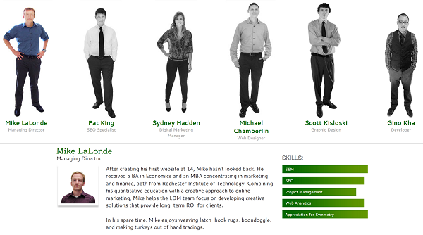 our team - mikes profile